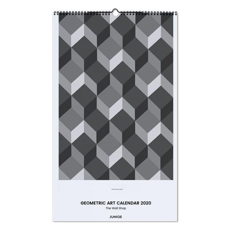 Geometric Art Calendar 2020 - The Wall Shop calendrier mural