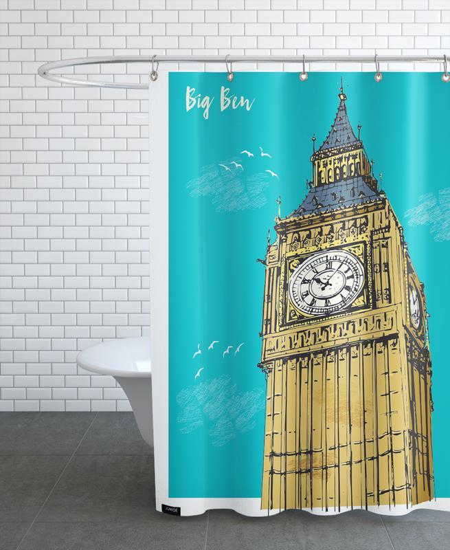 Big Ben -Duschvorhang
