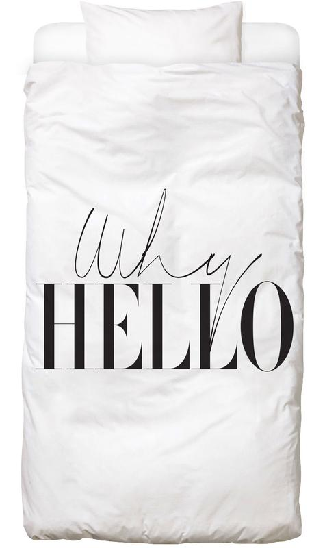Black & White, Why Hello Bed Linen