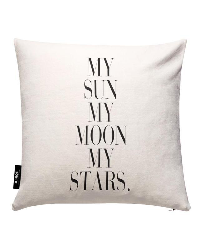 My Sun My Moon Housse de coussin