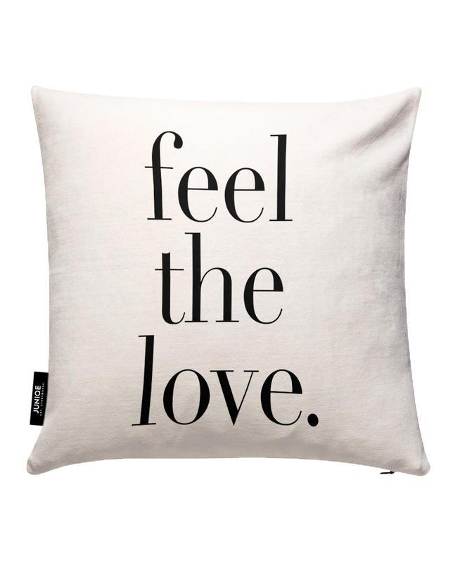 Feel The Love Kissenbezug