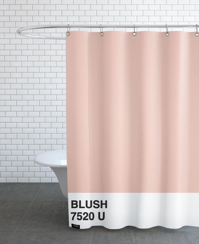 Blush -Duschvorhang