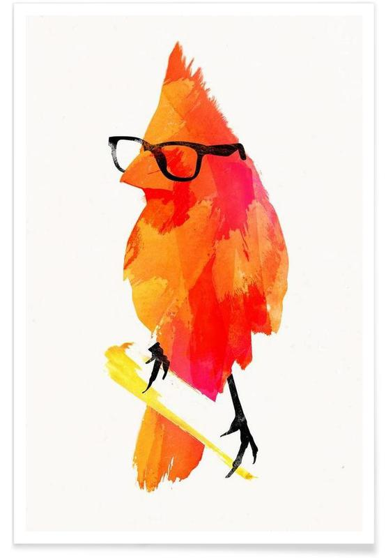 Punk birdy Poster
