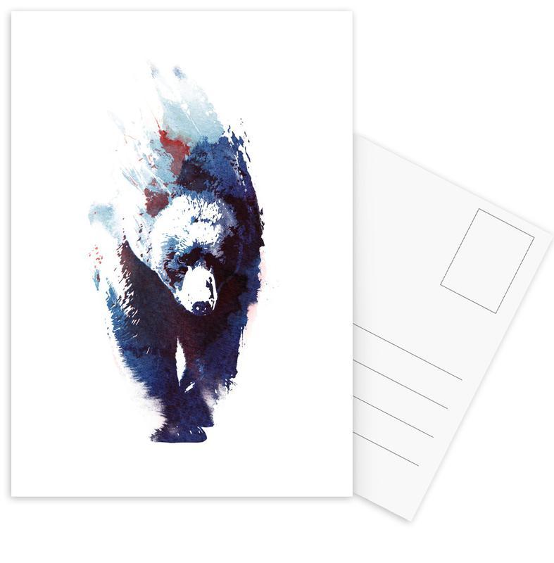 Ours, Art pour enfants, Death Run cartes postales