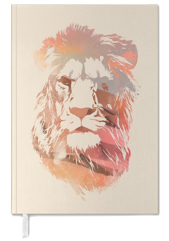 Nursery & Art for Kids, Lions, Desert Lion Personal Planner