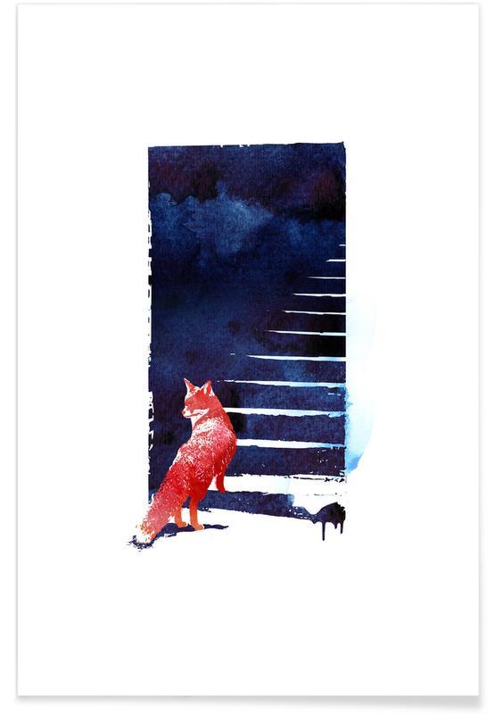 Kunst voor kinderen, Dromerig, Bossen, Sleeping in The Woods poster