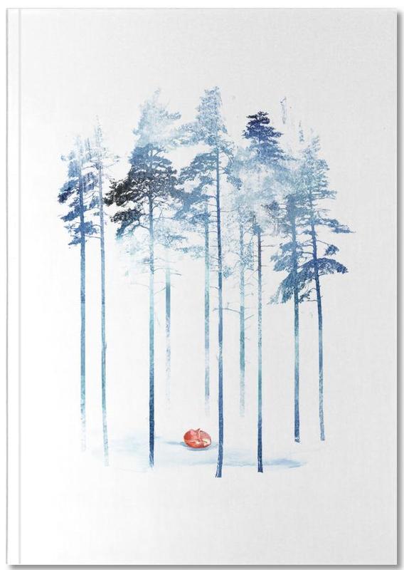 Renards, Rêve, Art pour enfants, Should I Stay Notebook