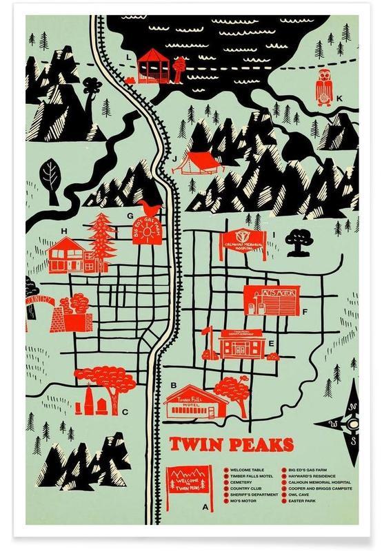 Twin Peaks -Poster