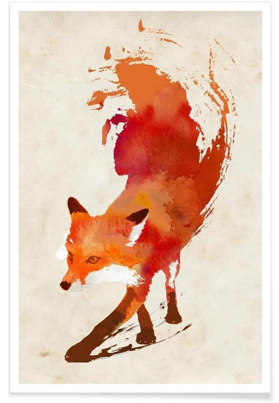 Vossen, Vulpes vulpes poster