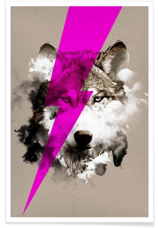 Wolf rocks affiche