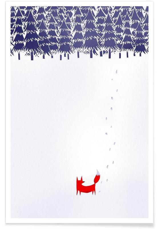 Alone in the Forest affiche