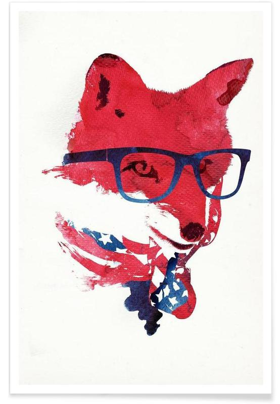 Renards, American Fox affiche