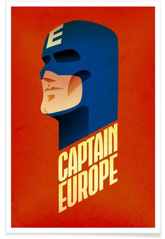 Captain Europe -Poster