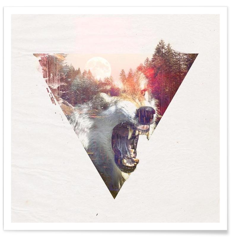 Loups, Daylight moon affiche