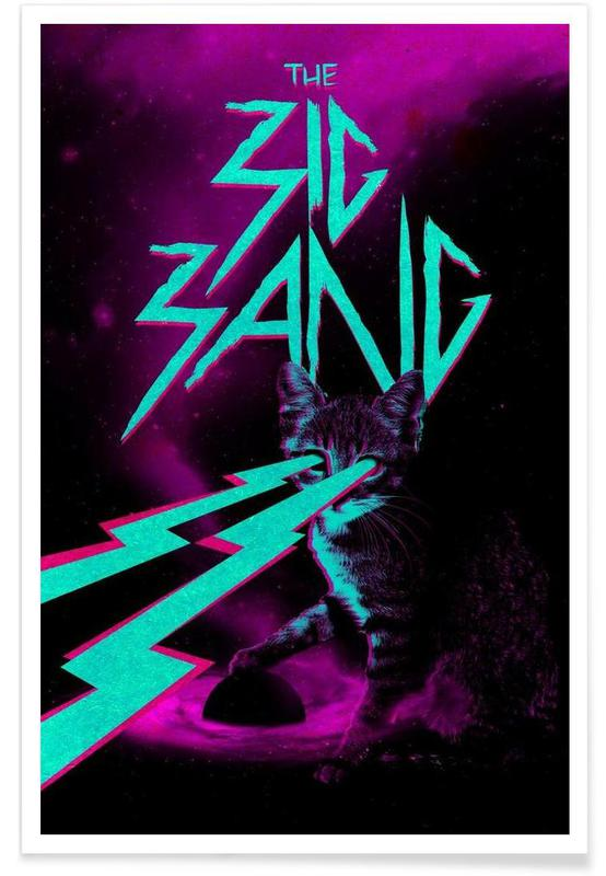 Cat Big Bang Poster