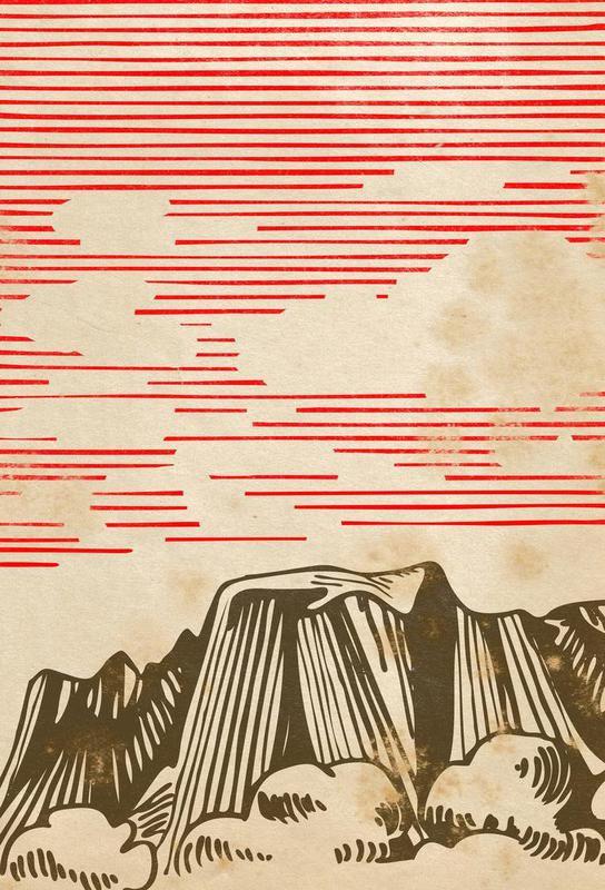 Karpathian Mountains acrylglas print