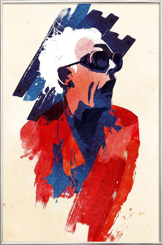 Emett Doc -Poster im Alurahmen