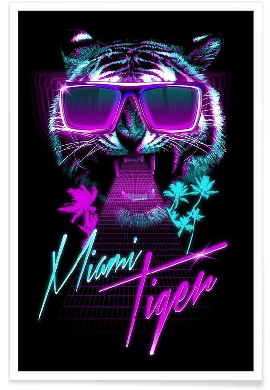Tigre, Miami, Miami Tiger Plakat