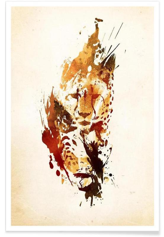 El Guepardo Poster
