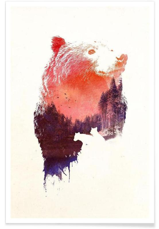 Ours, Love forever affiche