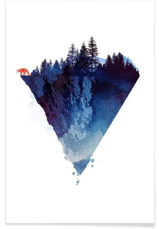 Paysages abstraits, Near to the edge affiche