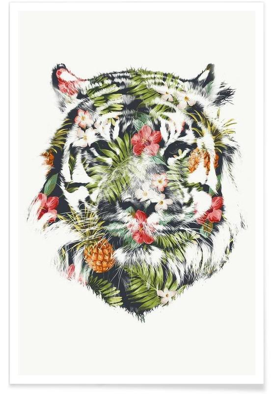 Tropical Tiger affiche