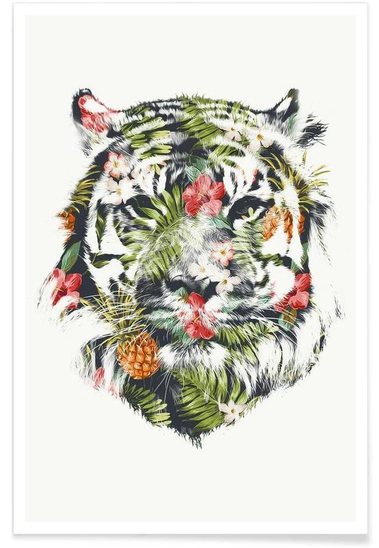 Tropical Tiger -Poster