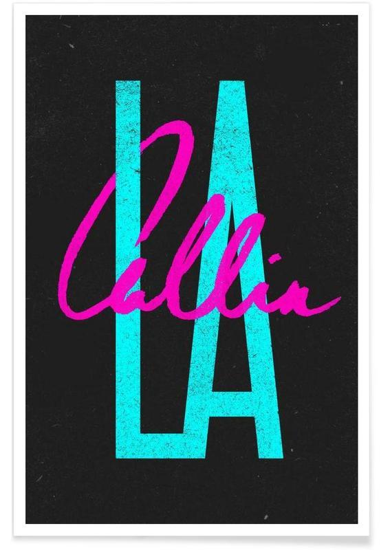 , La Callin affiche