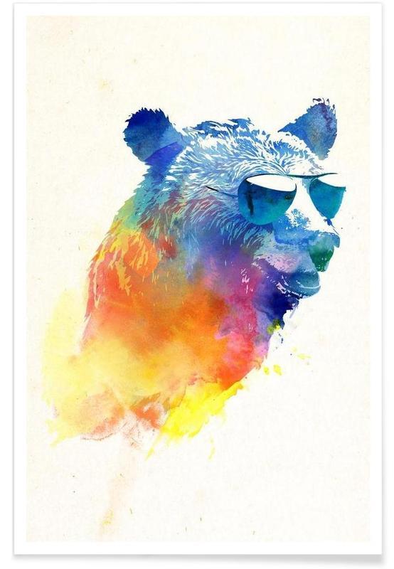 Sunny Bear Poster