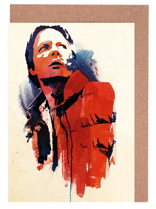Films, Marty McFly cartes de vœux