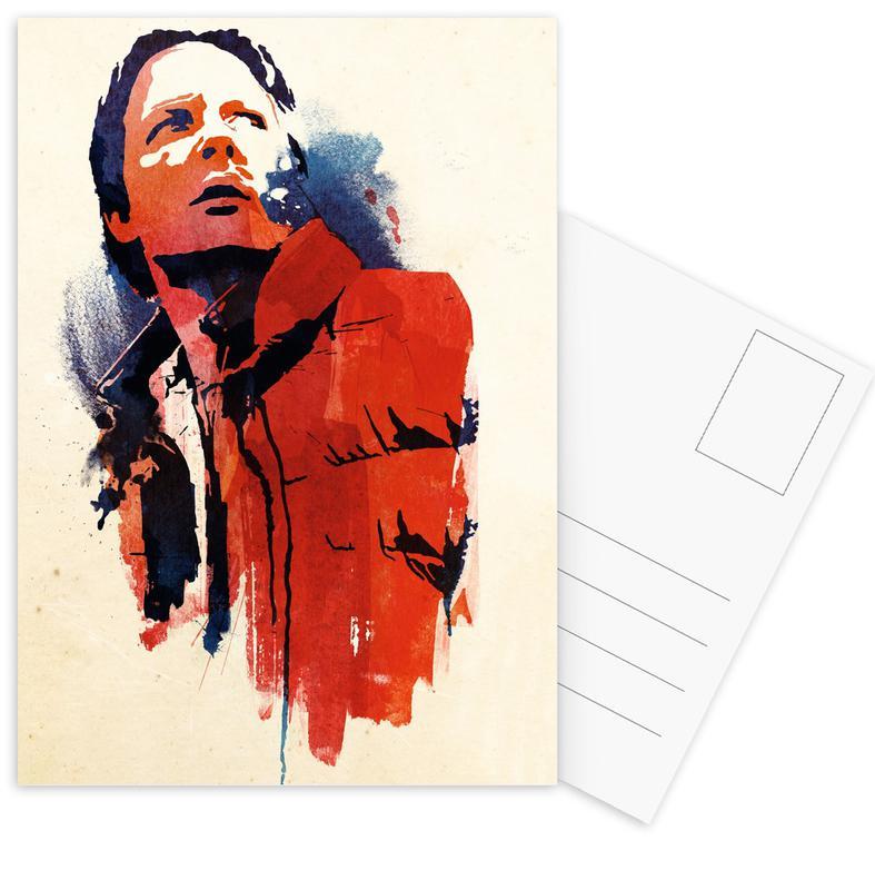 Films, Marty McFly ansichtkaartenset