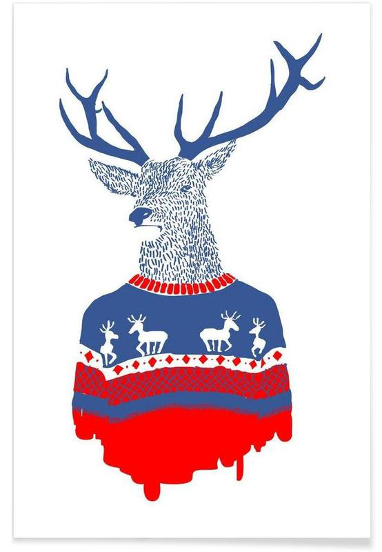 Ugly Winter Pullover affiche