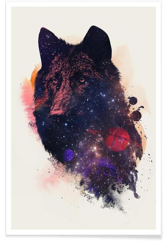 Universal Wolf Poster