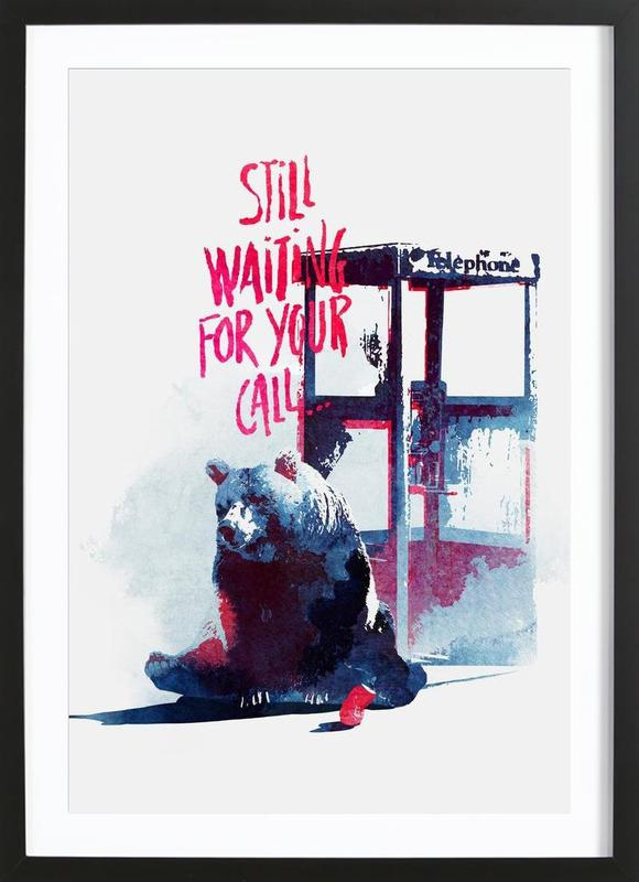 Waiting for your call Framed Print