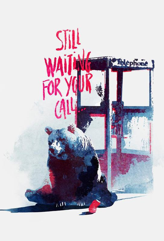 Waiting for your call Acrylic Print