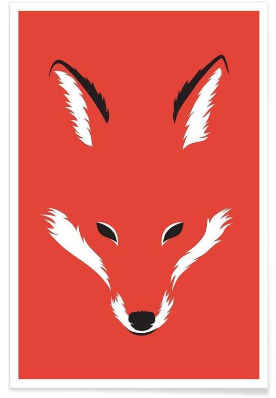 Foxy Shape -Poster