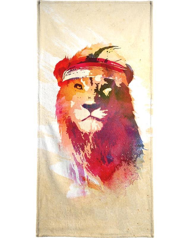 Gym Lion -Handtuch