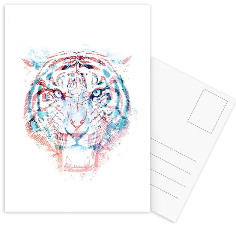 Tiger, Hidden Information -Postkartenset
