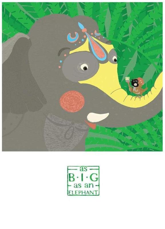As big as an elephant Canvas Print