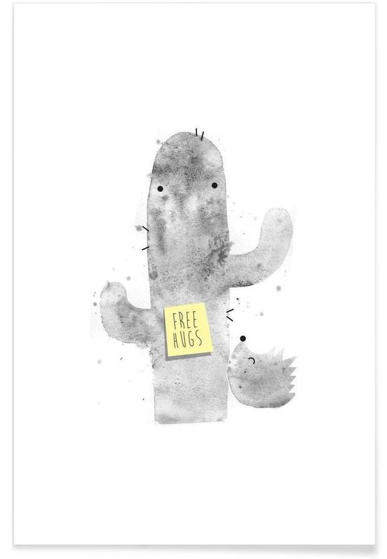 Funny, Hugs Poster