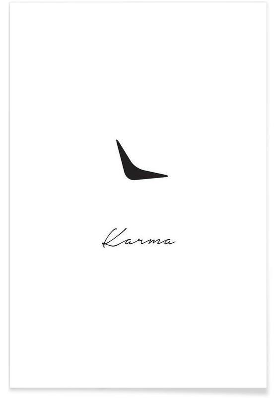 Noir & blanc, Karma affiche