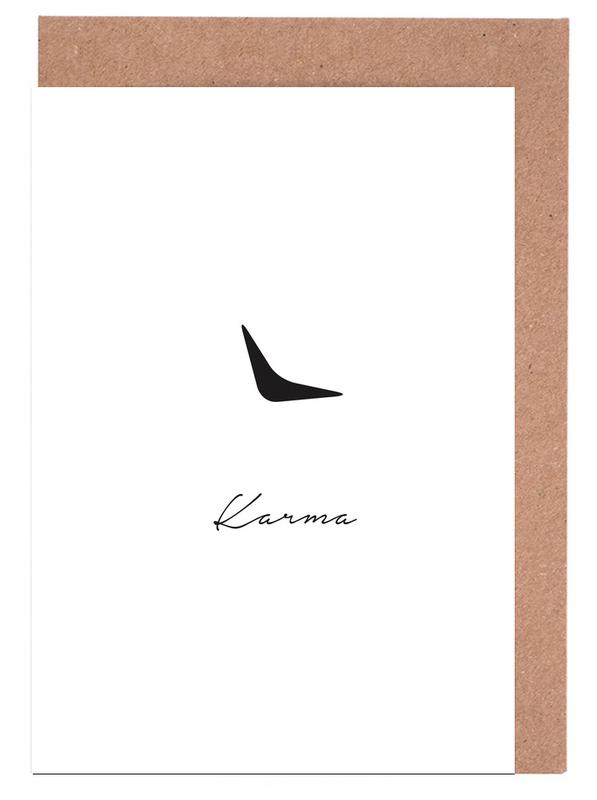 Karma Greeting Card Set