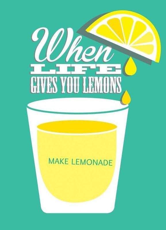 Lemons -Leinwandbild