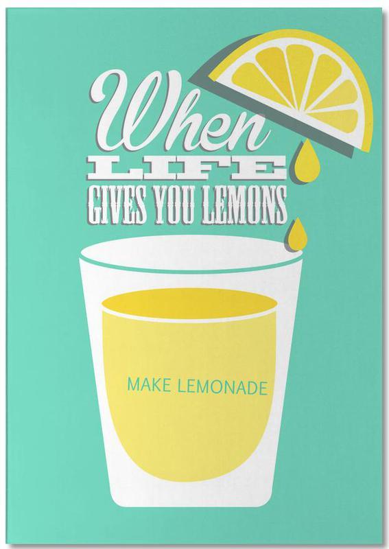 Lemons, Motivational, Lemons Notepad