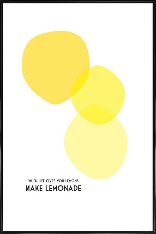 Lemons 2 Framed Poster
