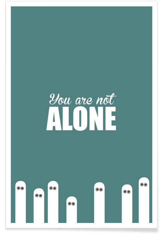 , Alone affiche