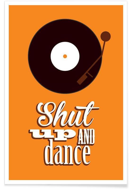 Paroles de chansons, Shut Up affiche
