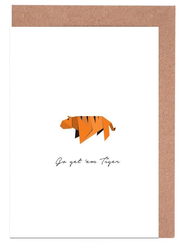 Tiger Greeting Card Set