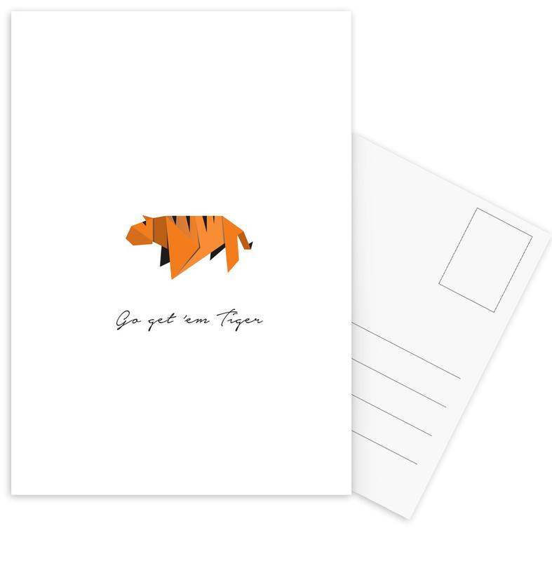 Tiger Postcard Set