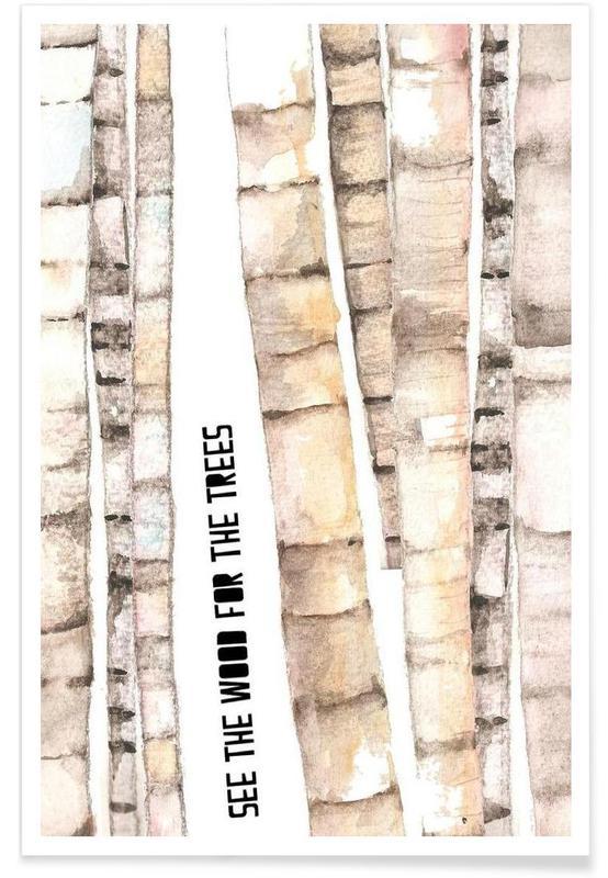 Arbres, Trees affiche